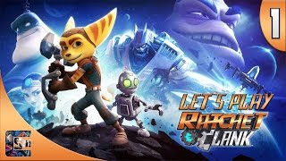 Nonton Ratchet And Clank (2016) - Walkthrough (Let's Play) HARD / PS4 Part 1