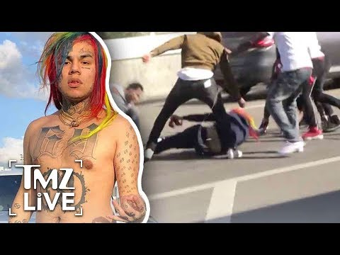 Tekashi69 In A HUGE Fight At LAX! | TMZ Live