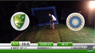 Video Backyard Cricket Australia vs India Day/Night Test MP3, 3GP, MP4, WEBM, AVI, FLV Mei 2018