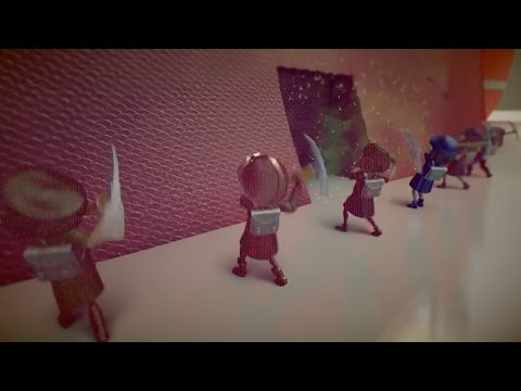 Children - A unique collaboration between developers Japan Studio and Q-Games. Gather resources, create combatants, and build a town to fend off monsters.