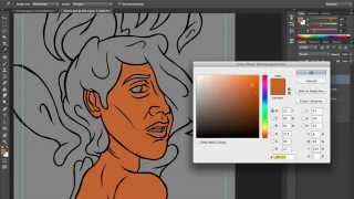 Hair #6 | Time Lapse Photoshop CC Illustration Process