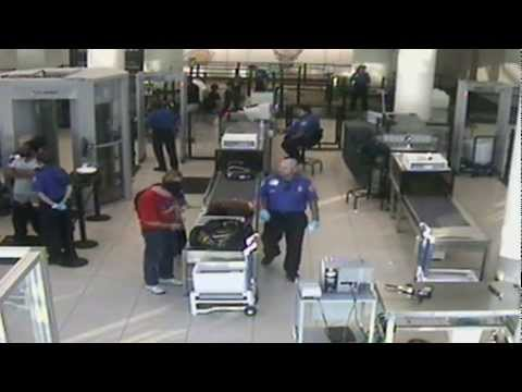TSA pulls down man's pants. Man arrested for Public Indecency and Disorderly Conduct.