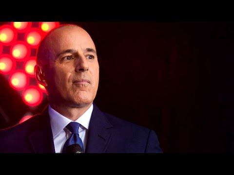 Matt Lauer responds to rape accusations from former producer