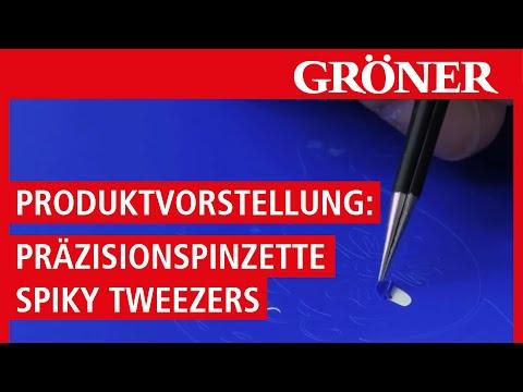 Spiky Tweezers: Präzisions-Pinzette