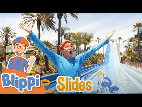 Blippi Visits Soak City Water Park | Educational Videos For Kids