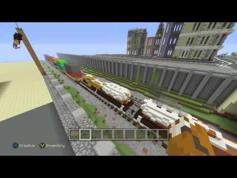 Minecraft city world tour!