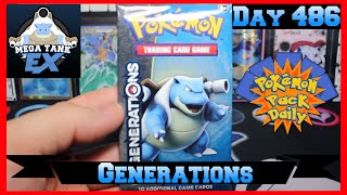 Pokemon Pack Daily Generations Booster Opening Day 486 - Featuring MegaTankEX by ThePokeCapital