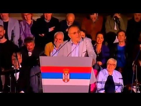 Говор генерала Срете Малиновића на завршној конвенцији Саше Јанковића (Београд, 29.3.2017)