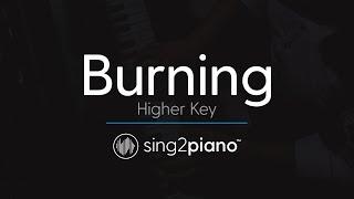 Video Burning (Higher Piano Karaoke) Sam Smith MP3, 3GP, MP4, WEBM, AVI, FLV Januari 2018
