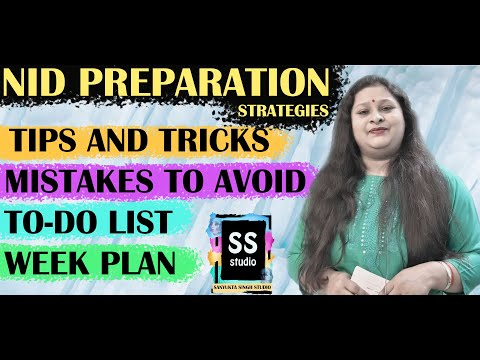 Last Minute Tips & Mistakes to avoid in NID Entrance Exam Preparation