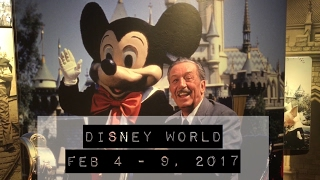 Disney World! Feb 4 - 9 2017  Hightlight by Take a Break with Aaron & Mo