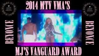 2014 VMA's - Beyonce Performance - MJ Vanguard Award - Full HD