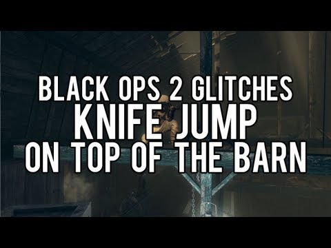 Black Ops 2 Glitches: On top of Barn Knife Jump on Farm!