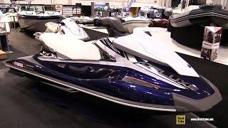 10. 2016 Yamaha VX Deluxe Jet Ski - Walkaround - 2016 Toronto Boat Show