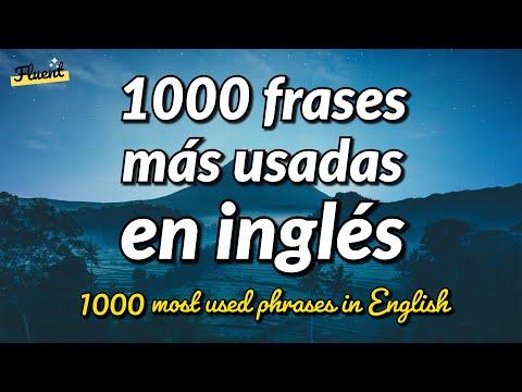 Las 1000 frases más usadas en inglés