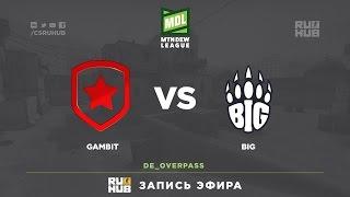 Gambit vs BIG - ESEA Premier Season 24 - map3 - de_overpass [ceh9, CrystalMay]