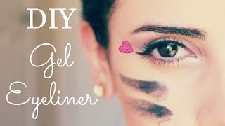 DIY Gel Eyeliner - YouTube