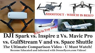 An attempt to educate the public to STOP comparing things which are not alike or comparable. The Spark is a cool starter drone - but not to be compared to higher end DJI models.Order your Spark at: https://goo.gl/k3JL6kFacebook: https://www.facebook.com/droneflyers/Twitter: https://twitter.com/bestquads?lang=enFull Droneflyers.com blog at http://www.droneflyers.com