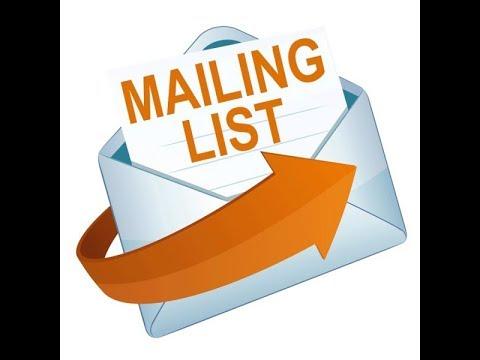 Cara Membuat Mailing List Microsoft Word dengan Database Excel