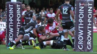 Sharks v Lions Rd.7 2016 } Super Rugby Video Highlights