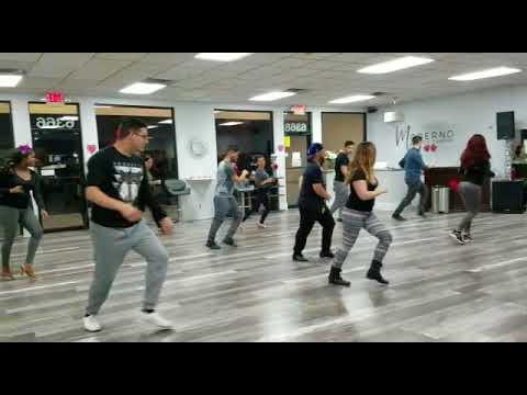 Moderno Dance Center | Advanced Salsa Footwork