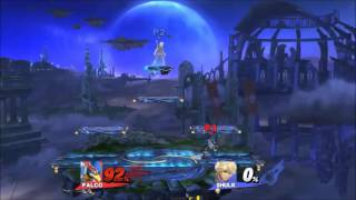 Double SideB Spike / 0-Death with Falco