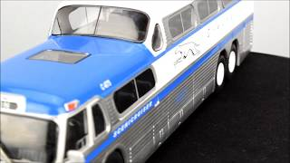IXO Models Scenicruiser Greyhound Bus