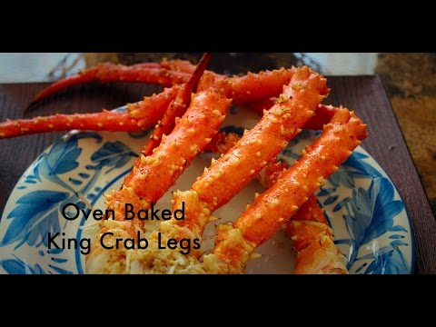 OVEN BAKED KING CRAB LEGS!!!