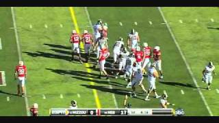 Michael Egnew vs Illinois and Nebraska