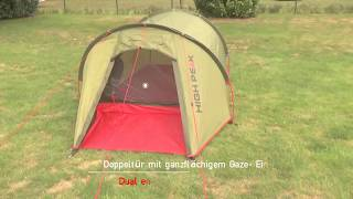 Трекинговая палатка тройка High Peak Kite 3