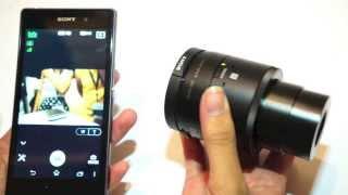 Tinhte.vn - Trên tay bộ đôi máy ảnh Cyber-shot QX10 và QX100 dùng cho smartphone