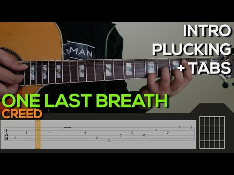Download Video Creed - One Last Breath Guitar Tutorial [INTRO + TABS ...