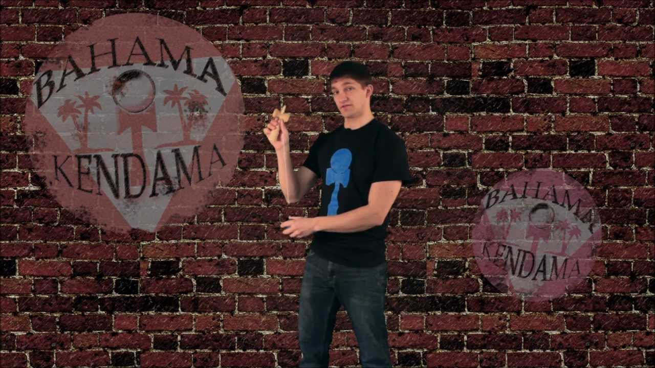 Bahama Kendama Tutorial with Joe Showers: 3 Basic Cup Tricks (Beginner Trick)