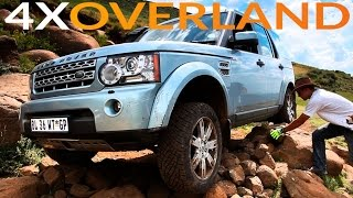 The Toughest 4x4 Trail In Southern Africa In A Discovery-4