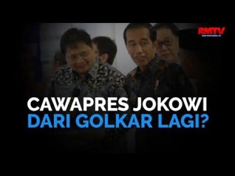 Cawapres Jokowi Dari Golkar Lagi?
