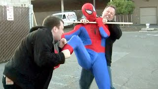 SPIDER-MAN FIGHTS CRIME