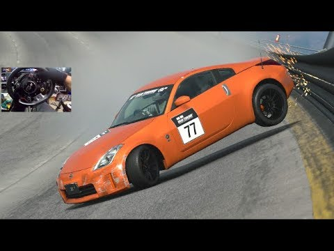 GT Sport GoPro - Top Speed Bank Wall Tap - 350z vs Special Stage Route X