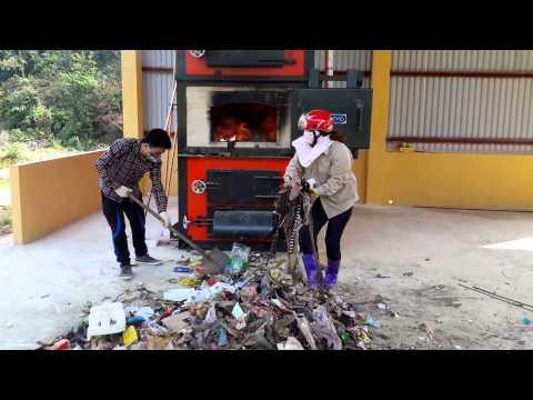 Lò đốt rác thải sinh hoạt công nghệ NFI-05 tại Na Hang, Tuyên Quang P2