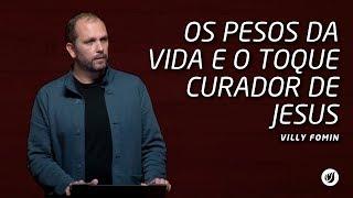 Neste vídeo Villy Fomin fala sobre os pesos da vida e o toque curador de Jesus.Este vídeo foi gravado no dia 20/04/2017, na Betesda do Jardim Marajoara.