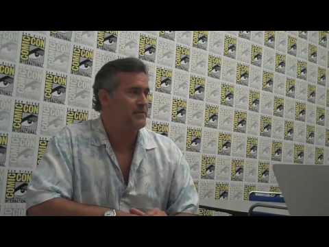 Comic-Con Diary: Bruce Campbell Part 1