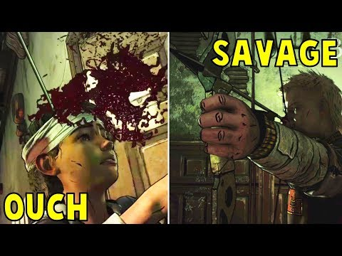 Marlon Assassinates Clementine With an Arrow -Every Single Choice- The Walking Dead The Final Season