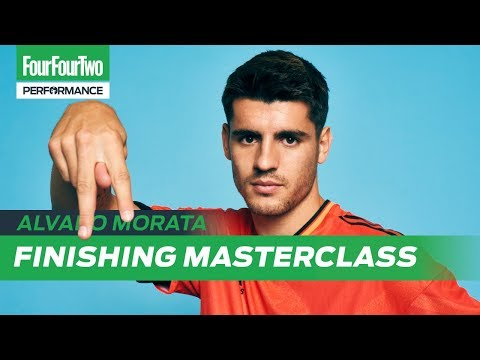 Alvaro Morata | Goalscoring masterclass | Train Like a Pro