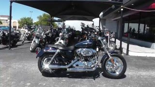 9. 443108 - 2014 Harley Davidson Sportster 1200 Custom XL1200C - Used Motorcycle For Sale