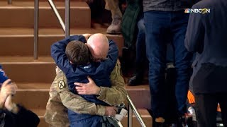 Rangers reunite father and son in heartwarming fashion by NHL