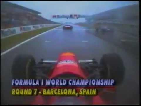 michael schumacher: prima vittoria in ferrari - barcellona 1996
