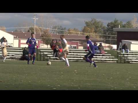 Alma College Men's Soccer - October 10, 2012