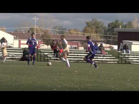 Alma College Men's Soccer - October 10, 2012