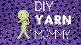 DIY Yarn Mummy - YouTube