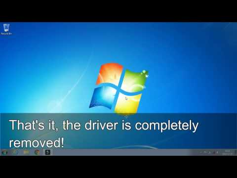 Completely remove printer driver