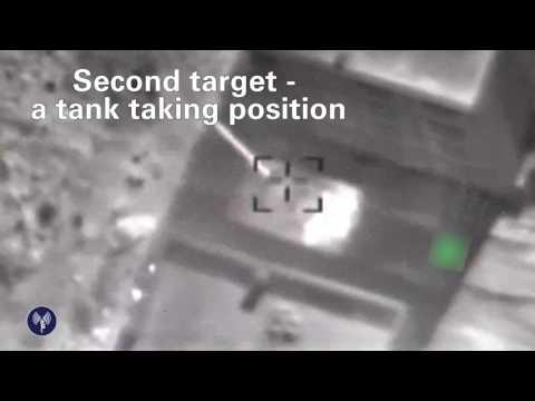 Szíriai harckocsikat lőtt ki az izraeli légierő